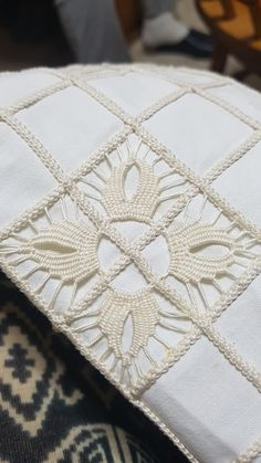Best 12 Beverley Petersen's media content and analytics Hardanger Embroidery, Ribbon Embroidery, Embroidery Stitches, Irish Crochet, Crochet Lace, Bruges Lace, Romanian Lace, Crochet Flower Tutorial, Drawn Thread