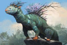 Forest Dragon by AlexKonstad on deviantART