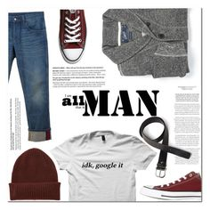 """""""Untitled #827"""" by es-vee ❤ liked on Polyvore featuring Grayers, Converse, Gucci, Paul Smith, Toscanella, men's fashion and menswear"""