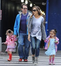 Marion Broderick and Tabitha Broderick - Sarah Jessica Parker Takes Her Kids to School - April, 2013