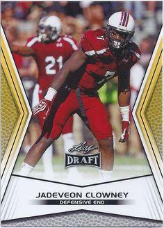 Jadeveon Clowney (Rookie) Houston Texans 2014 Leaf Draft (Gold) Card #JCI