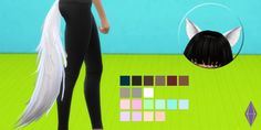 "tovisims: "" A Tera -> TS4 Conversion. Credit for the mesh and textures belongs to Bluehole Studios. Ripped from the little Fox Elin. This set is one item, found under hats. • Male & Female • Child-Elder • 1k Poly • This uses Alpha and Sim Glass so..."