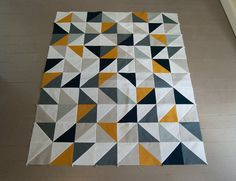 triangle quilt inspo