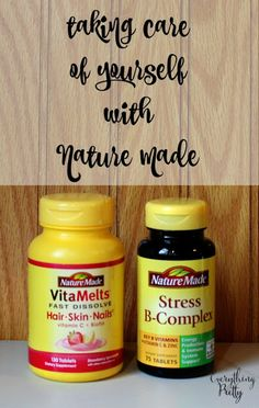 Taking Care of Yourself via www.yourbeautyblog.com #NatureMade #IC #ad