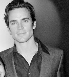 Matt Bomer - handsome in b/w