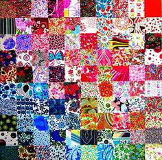 """100 LIBERTY TANA LAWN PATCHWORK 2.5"""" CHARM SQUARES Liberty Fabric, Liberty Of London, Squares, Lawn, Fabrics, Charmed, Quilts, Blanket, Colour"""