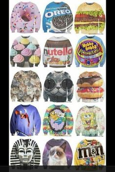 Awesome graphic sweaters