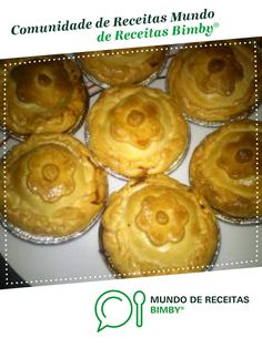 empadas de galinha Quiches, Muffin, Laser, Breakfast, Desserts, Recipes, Desert Recipes, Boneless Chicken, Snacks