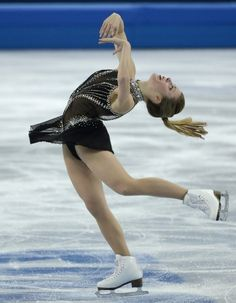 Many thought the 22-year-old redeemed herself with a beautiful performance last night. | USA Figure Skater Ashley Wagner Is Pretty Mad About Her Score