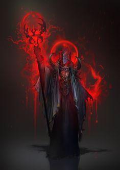 Bloodmage concept - Sigantium by 2blind2draw.deviantart.com on @deviantART