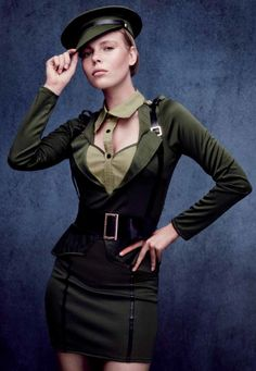 #Costume #Disfraz de #Militar Sexy para mujer