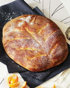 Le Gibassier - A French Anise & Orange Flavored Loaf via Sweet Paul