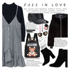 """""""Untitled #2161"""" by anarita11 ❤ liked on Polyvore featuring MANGO, Moschino and Puma"""