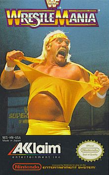 WWE WrestleMania [Nintendo] - featuring on the cover, Hulk Hogan Wrestling Games, Wrestling Videos, Vintage Video Games, Classic Video Games, Nes Games, Arcade Games, Nintendo Entertainment System, Playstation, Nes Collection