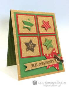 Under the Tree DSP and Holiday Invitation stamp set from the Stampin' Up! 2014 Holiday Catalogue