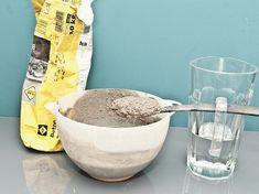 Tutorial fai da te: Creare vasi in cemento via DaWanda.com