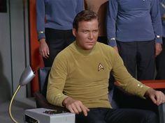 Star Trek Season 1 Episode 3 - Where No Man Has Gone Before (22 Sep. 1966), Captain James T. Kirk (William Shatner)