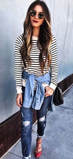 87  Awesome Fall Outfits To Update Your Wardrobe #fall #outfit #style Visit to see full collection