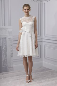 Hello shorty ..  Monique Lhuillier Spring 2013
