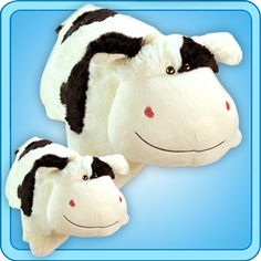 861614b8a1c Black  amp  White COW pillow pet  D They sell at Pillowpets.com