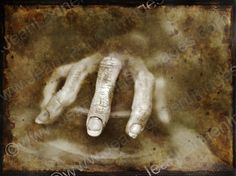 Bizarre Creepy Hand