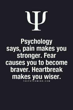 Psychology says,