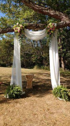 Romantic Wedding Decor, Outdoor Wedding Decorations, Outdoor Weddings, Country Weddings, Rustic Weddings, Unique Weddings, Indian Weddings, Ceremony Decorations, Yard Decorations