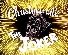 comics are cool joker animated batman the animated series christmas comics merry christmas - Batman The Animated Series Christmas With The Joker