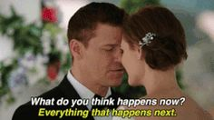 Discover & share this Bones GIF with everyone you know. GIPHY is how you search, share, discover, and create GIFs. Best Love Stories, Beautiful Love Stories, Love Story, Booth And Bones, Booth And Brennan, Best Tv Couples, Best Couple, Valentines Day Post, The Woman In White