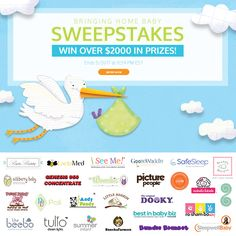 "WIN over $2000 in prizes in the @ISeeMeBooks ""Bringing Home Baby!"" #Sweepstakes!"