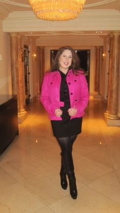 Socialite and the City: OOTD - Love my Pink Jacket!