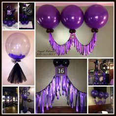Sweet 16 Tassels #balloonsandtassels Sweet 16 Decorations, Tassels, Balloons, Info Board, Wreaths, Halloween, Party, Graduation, Batman