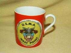 WEST POINT MUG USMA MILITARY ACADEMY MINI MINIATURE VINTAGE UNITED STATES SMALL