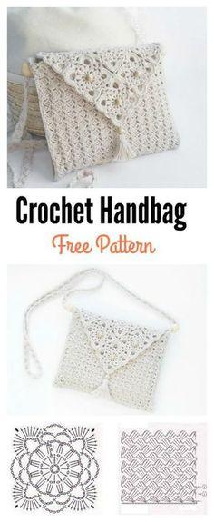"Crochet_Tutorial - ""Outstandin | Bolsa de crochê técnica c2c"