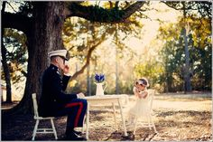 Dad and daughter photo idea. So adorable imma cry. Military Couples, Military Love, Military Families, Girl Photos, Family Photos, Girls Tea Party, Daddy Daughter, Daughters, Us Marines