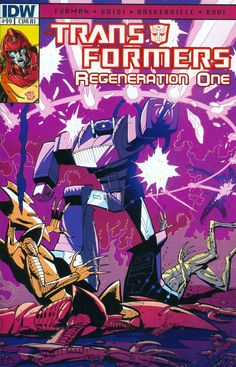 Transformers Regeneration One #99 Cover C Incentive Geoff Senior Variant Cover