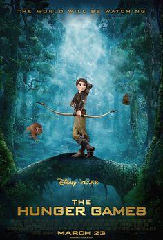 Disney's Pixar The Hunger Games