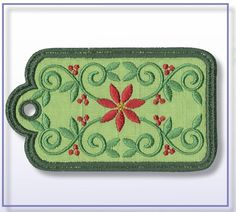 Anita Goodesign Machine Embroidery | Christmas Gift Tags collection in our Anita Goodesign Embroidery ...