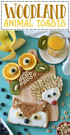 Turn your gluten free bread into magical breakfast Woodland Animal Toast cuties with these fall-inspired fox, hedgehog, and owl toasts. Breakfast For Kids, Best Breakfast, Festa Pow Wow, Toddler Meals, Kids Meals, Cute Food, Good Food, Cooking With Kids, Cooking Tips
