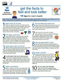 10 Tips for Men's Health! #MensHealth #MensHealthWeek #MyPlate