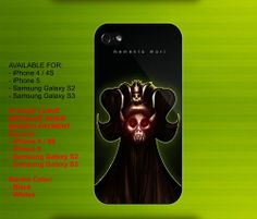 The Lich King case for iPhone 4/4S iPhone 5 Galaxy S2/S3 #iPhonecase #iPhoneCover #3DiPhonecase #3Dcase #S4 #s5 #S5case