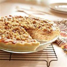Caramel Apple Walnut Pie Allrecipes.com--i will also add melted carmel sauce on top.