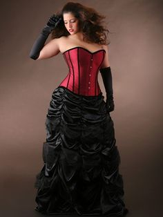 Steampunk Plus Size Dresses and Corsets photo picture