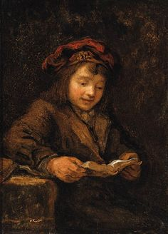 Rembrandt, Titus reading