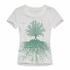 Dirtball - Dirtball Roots Women's Tee Shirt - Eco Clothing for Women - Eco Fashion Skate T Shirts, Tee Shirts, Tees, Eco Clothing, Outdoor Outfit, Shirt Designs, Clothes For Women, My Style, North Carolina