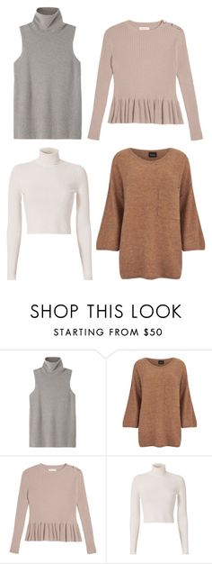 """""""Basics"""" by wanttowearwhat on Polyvore featuring moda, The Row, VILA e A.L.C."""