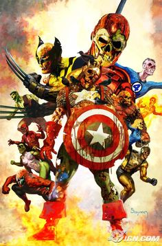 """Marvel Zombies"""