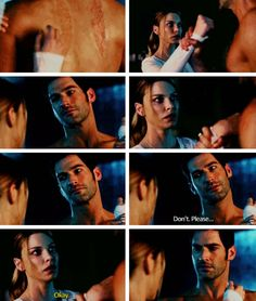 I don't know about you guys, but this scene made me like Lucifer even more! - I don't know about you guys, but this scene made me like Lucifer even more! – I don't know about you guys, but this scene made me like… - Lauren German, Movies Showing, Movies And Tv Shows, Dc Comics, Tom Ellis Lucifer, Morning Star, Lectures, Film Serie, Series Movies