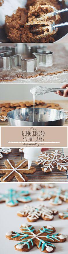 #vegan #gingerbread cookies | RECIPE on hotforfoodblog.com