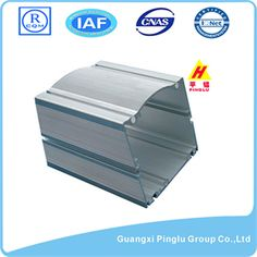 Name: Industrial Aluminium Section, Metal Extruded Profile. Brand: Pinglu. Material: Aluminum Alloy. Grade: 6000 Series. Temper: T4-T6. Surface Treatment: Mill Finish. Certificate: ISO 9001:2008, ROHS, CE, IQNET. Color: Different Colors. Size: Same as Drawings. Application: Architectural & Industrial. Award: Guangxi Famous Brand. Quality Standard: GB 5237-2008. Package: Shrink Wrap. Delivery: 15-20 Days after Deposit. More:http://www.pinglualuminium.com/